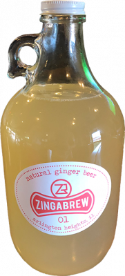 zingabrew bottle